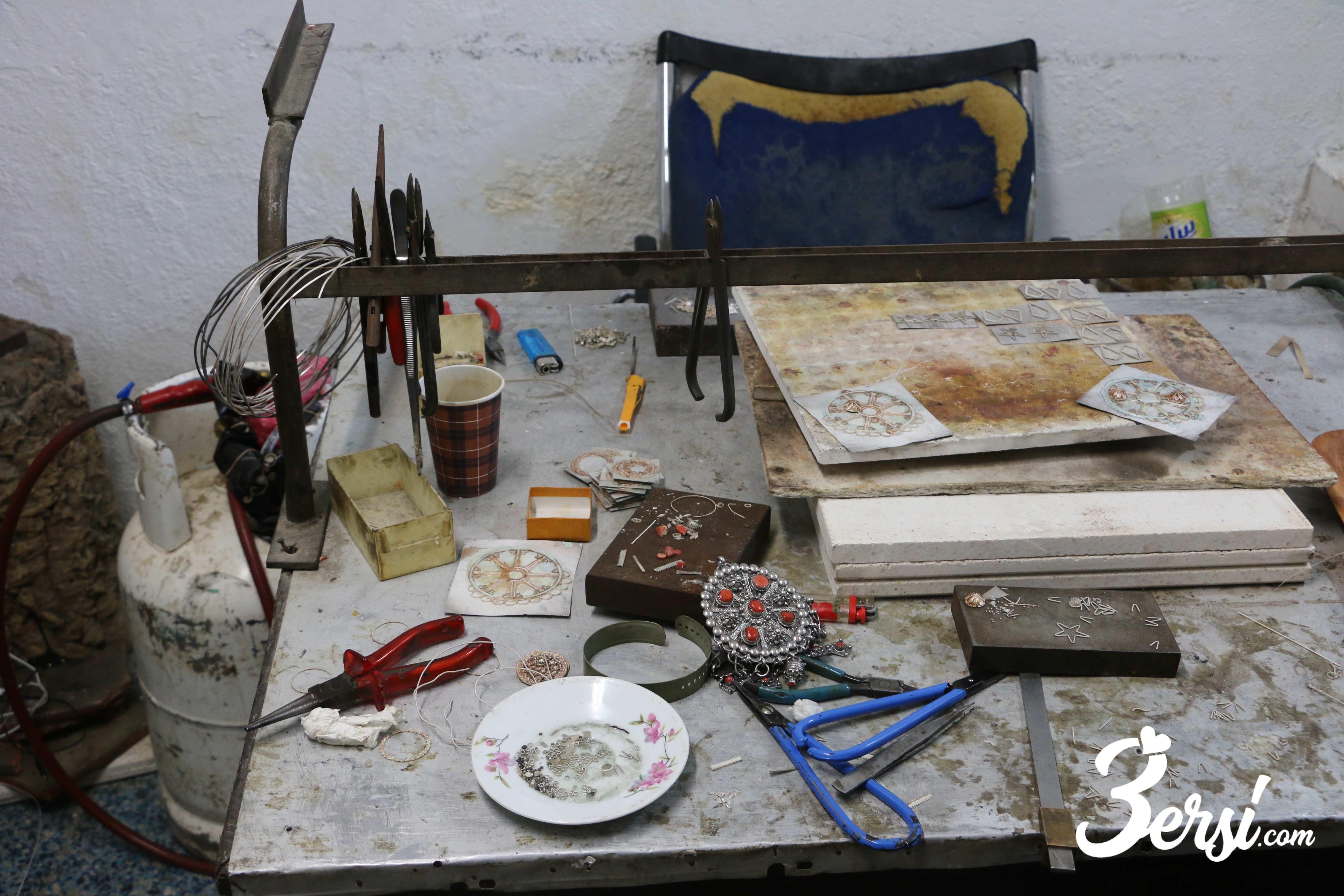 Atelier d'artisanat, fête du bijou d'At Yenni, 2018