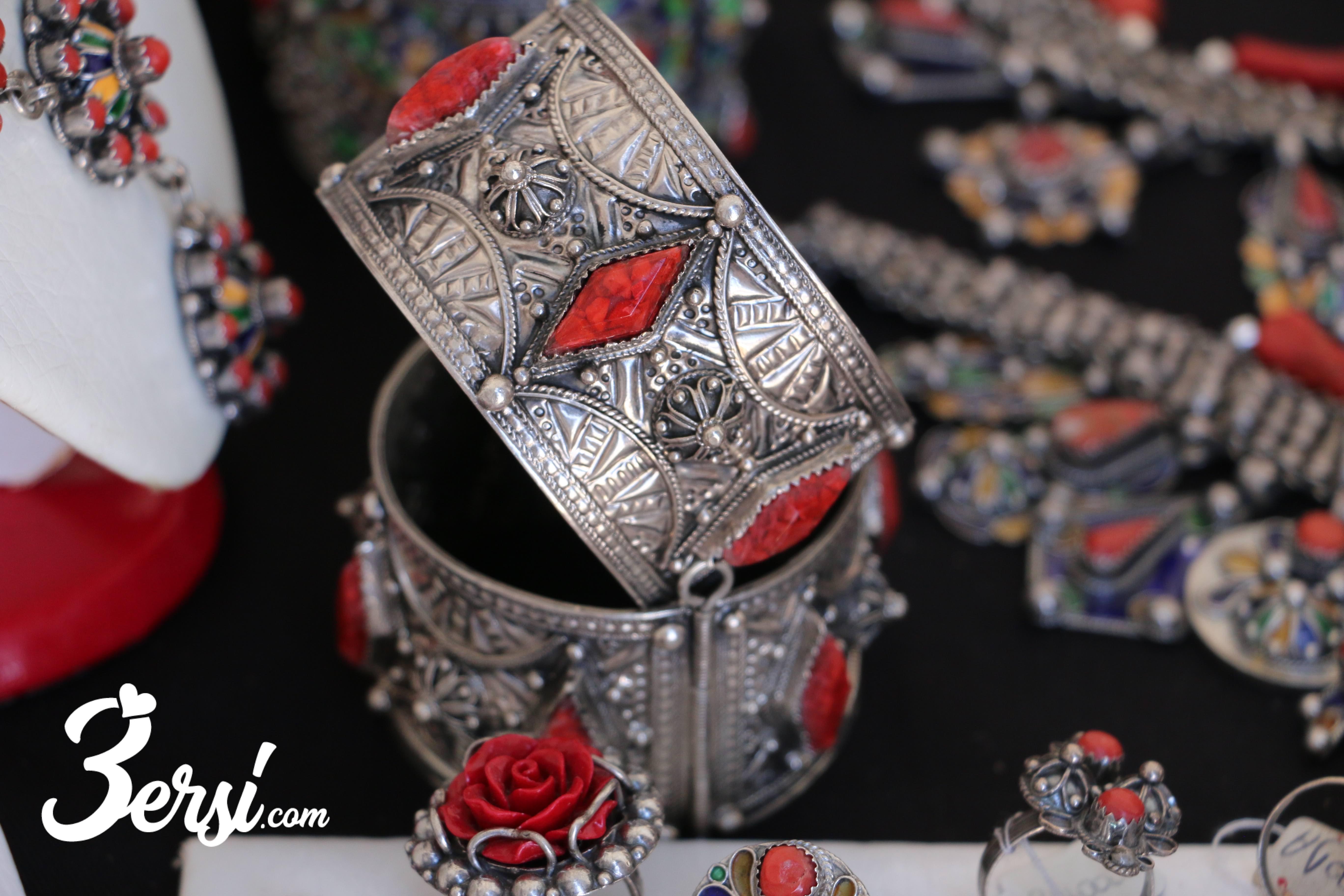 Amechloukh (bracelet), fête du bijoux d'Ath Yenni, 2018 - 3ersi.com